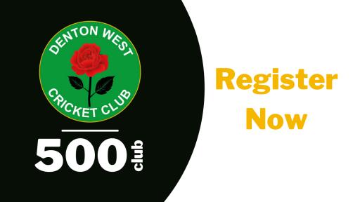 Launch of Denton West Cricket Club '500 Club'